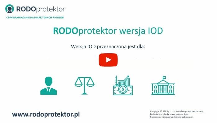 Aplikacja do RODO. Program do RODO. System dla IOD.