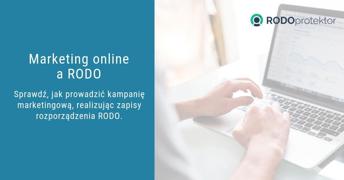 Marketing online a RODO