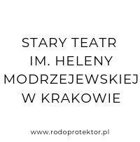 Aplikacja do RODO - klienci RODOprotektor - Stary Teatr im. Heleny Modrzejewskiej w Krakowie