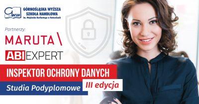 Inspektor Ochrony Danych - studia podyplomowe