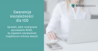 Gwarancja niezależności dla inspektora ochrony danych