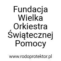 Aplikacja do RODO - klienci RODOprotektor - Fundacja Wielka Orkiestra Świątecznej Pomocy