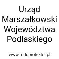 Aplikacja do RODO - klienci RODOprotektor - Urząd Marszałkowski Województwa Podlaskiego