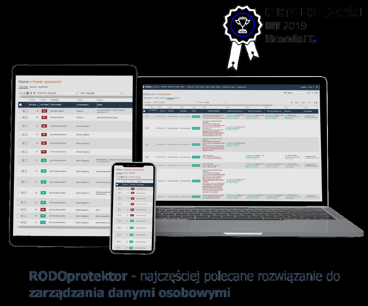Aplikacja do RODO - RODOprotektor