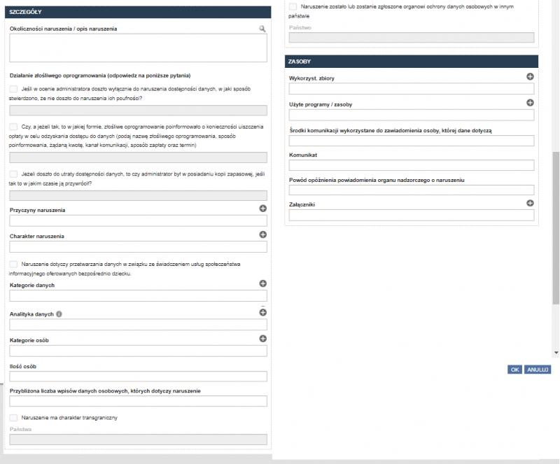 Rejestracja naruszenia danych osobowych RODOprotektor