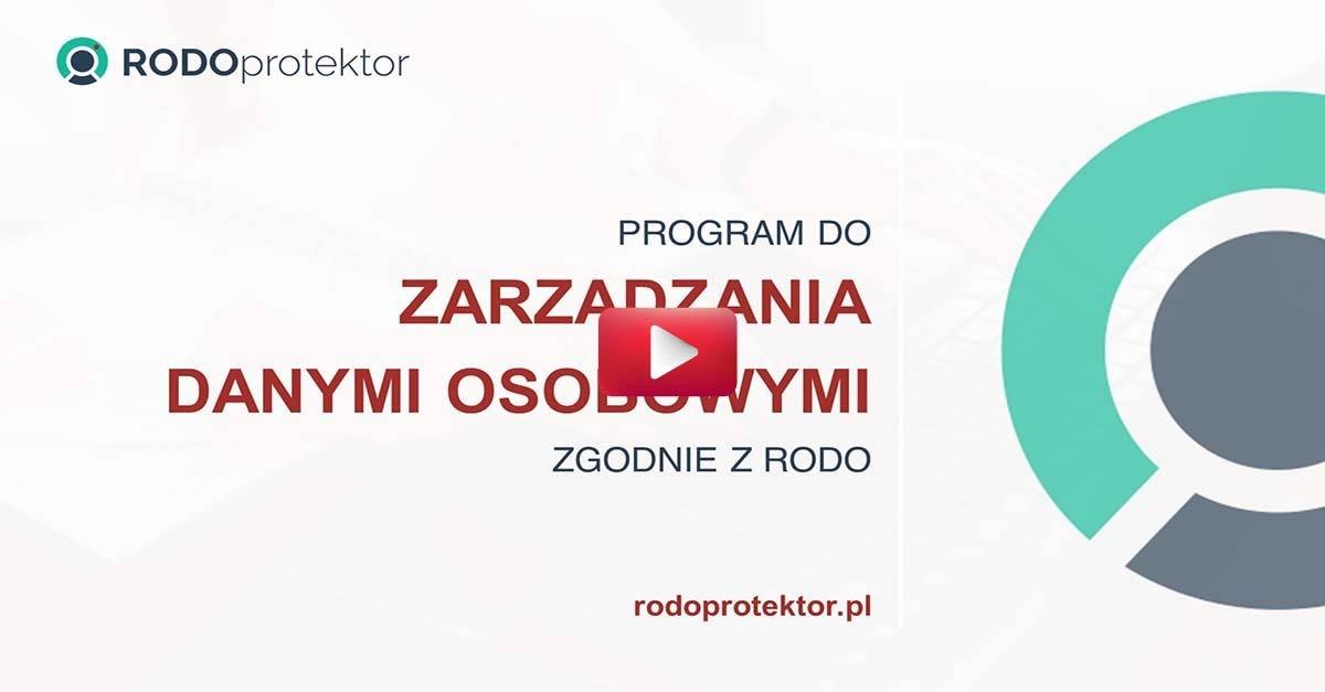 Program do zarządzania danymi osobowymi zgodnie z RODO